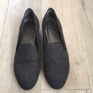 Stuart weitzman loafer grey size 8.5